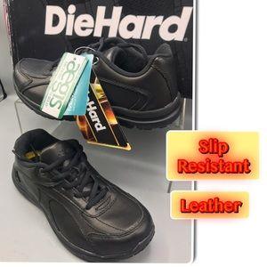 Die Hard Women's Addison Slip Oxford Work  Sneaker